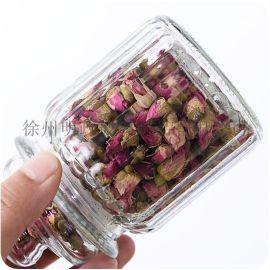 玻璃密封罐蜂蜜瓶柠檬花茶枸杞香料杂粮储物放茶叶罐子