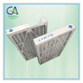 棉+护网板式初效过滤器 厂家