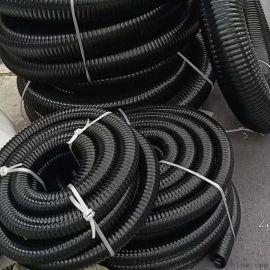 工业耐磨防冻钢丝管通风排气管pu钢丝吸尘管