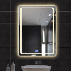 网红同款智能浴室镜,触控开关LED化妆镜