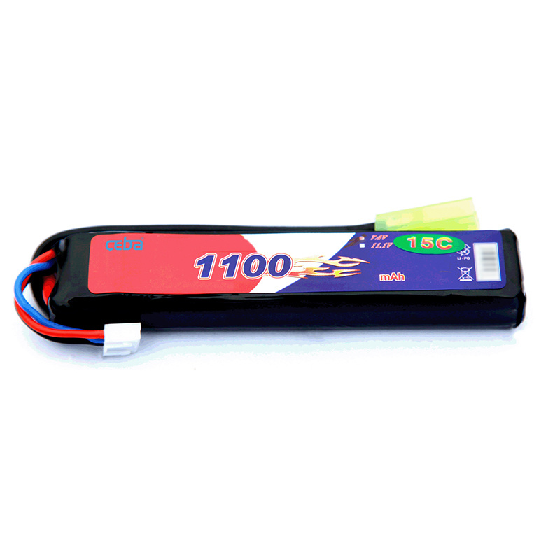 锂聚合物电池组1100mAh高分子电池玩具飞机电池