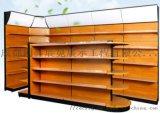 成都钢木货架 超市钢木货架 进口食品钢木货架厂家