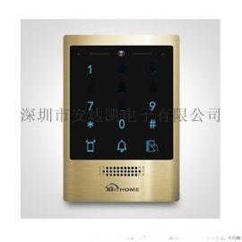 丹东写字楼人脸对讲 室内分机在线监视 人脸对讲工厂