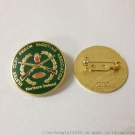 珐琅别针徽标定制,金属警徽制作,找制作徽章厂