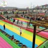 浙江杭州大型網紅橋加充氣氣墊適合景點經營的網紅設備