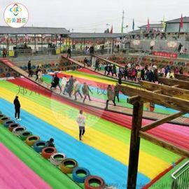 浙江杭州大型网红桥加充气气垫适合景点经营的网红设备