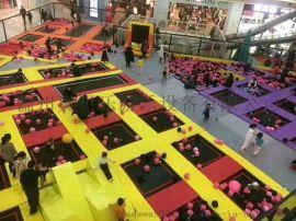 淘气堡游乐设备  蹦床滑梯百万球池厂家
