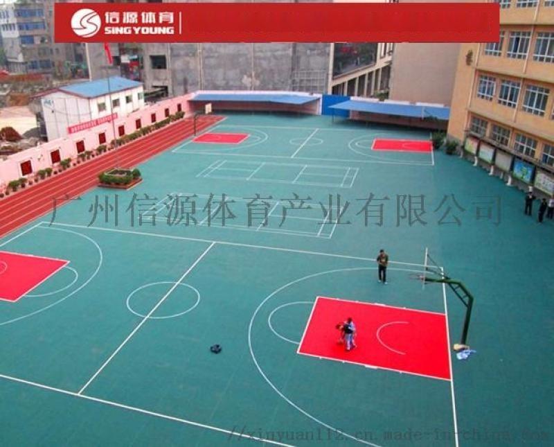 可拆卸懸浮地板,專業塑膠懸浮地板籃球場鋪設