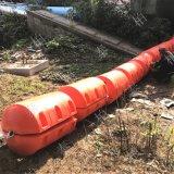 工廠供應浮式扛撞擊攔污浮筒攔污排