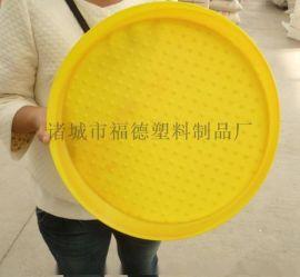 塑料省料盘 鸡用饲料托盘 家禽开食盘