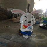 顺德玻璃钢雕塑商场城创意卡通吉祥物喜庆美陈