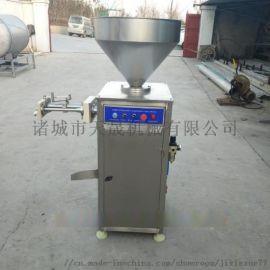 烤肠自动扭结灌肠机,气动定量灌肠机多少钱