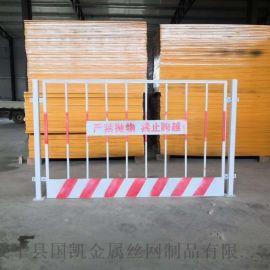 临时施工电梯门  电梯井口护栏