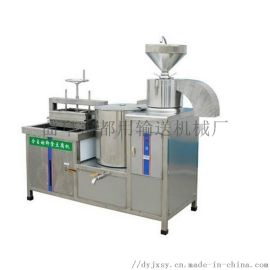 节省人工高产豆腐皮机器 磨煮浆豆腐一体机 利之健l