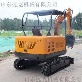 供应 25小型挖掘机 轮式挖掘机 小型家用挖土机
