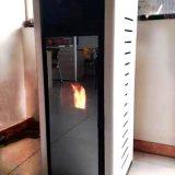 新款生物木质颗粒取暖炉真火炉 家用颗粒炉壁炉取暖炉