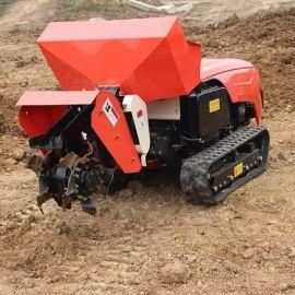 农用深耕犁地机新型履带式旋耕机 大**田园管理机