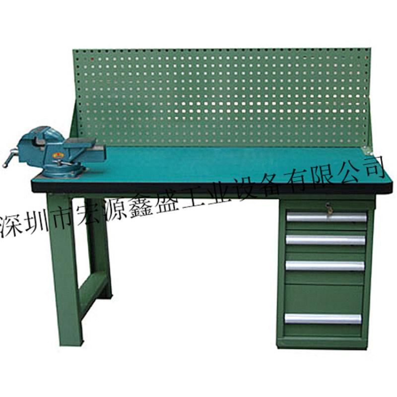 模具维修工作台 榉木桌面钳工工作台 装配台虎钳
