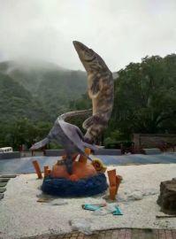 厂家专业制作玻璃钢仿真动物雕塑雕塑