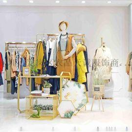 杭州品牌如缤女装折扣三标齐全走份货源就找广州明浩