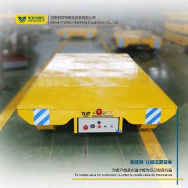 蓄电池轨道平板车机动力路铁搬运平车 冶炼设备平移车