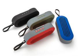 双喇叭天线收音无线蓝牙音箱