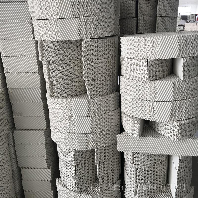 生产现场精馏塔350Y/450Y陶瓷波纹规整填料