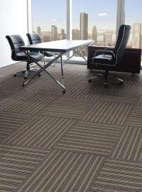 深圳办公室地毯工程方块防火尼龙PVC底