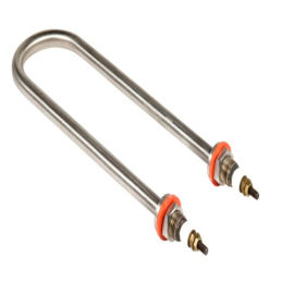 高温耐腐蚀不锈钢高温电加热管双头加热管