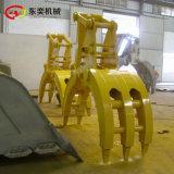挖机机械爪子 机械式爪木器夹石机工厂