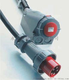 乐清供应3孔16A暗装工业插头插座制造商
