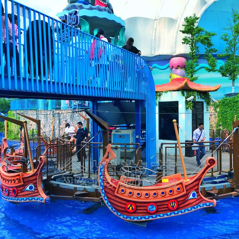亲子互动水上飞船游乐设备 儿童水上飞船生产厂家