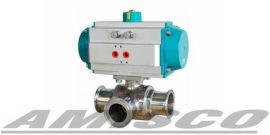 美国AMISCO进口卫生级气动球阀