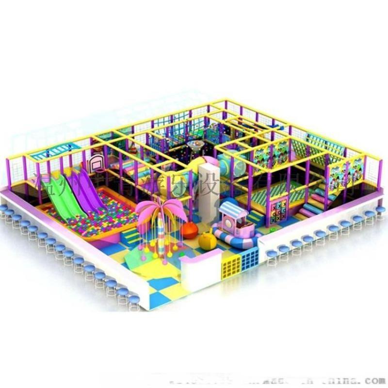 中青遊樂 濱州室內樂園淘氣堡 兒童樂園設備 直銷