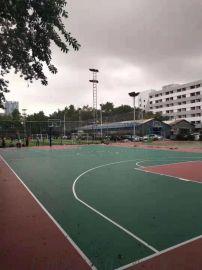 丙烯酸篮球场施工建设-塑胶篮球场专业施工建设工程厂家