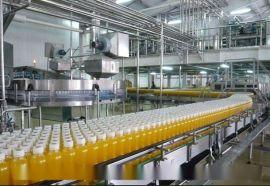 全自动芒果饮料灌装生产设备|成套果汁生产线KX机械