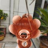 南京公園涼亭用排水鏈 純銅雨鏈源頭廠家