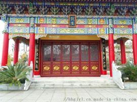 湖南古建设计,湖南长沙古建彩绘,长沙墙绘油漆
