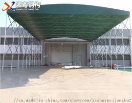 中山厂家  新款汽车帆布遮阳棚折叠伸缩雨棚活动雨棚