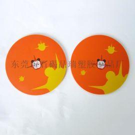 定制pvc软胶杯垫 隔热垫 pvc软胶餐垫