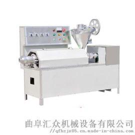 豆皮机视频 成套牛排豆皮机设备 利之健lj 不锈钢