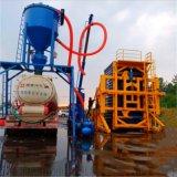 石油胶粉清库气力输送机10米高装罐输送机气力抽灰机