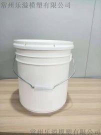 5GAL 20L 直身桶 直罐桶 机打胶桶