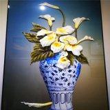 青花瓷彩色打印铝单板 艺术元素UV打印铝单板定制