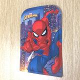 儿童拉杆书包花片3D压模片,蜘蛛侠eva热压成型