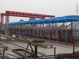 大型物流移動雨棚戶外工地活動帳篷-雨棚供應商-價格-成都雨棚免費上門安裝