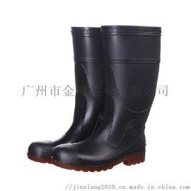 金橡耐油耐酸碱防砸防穿刺雨鞋