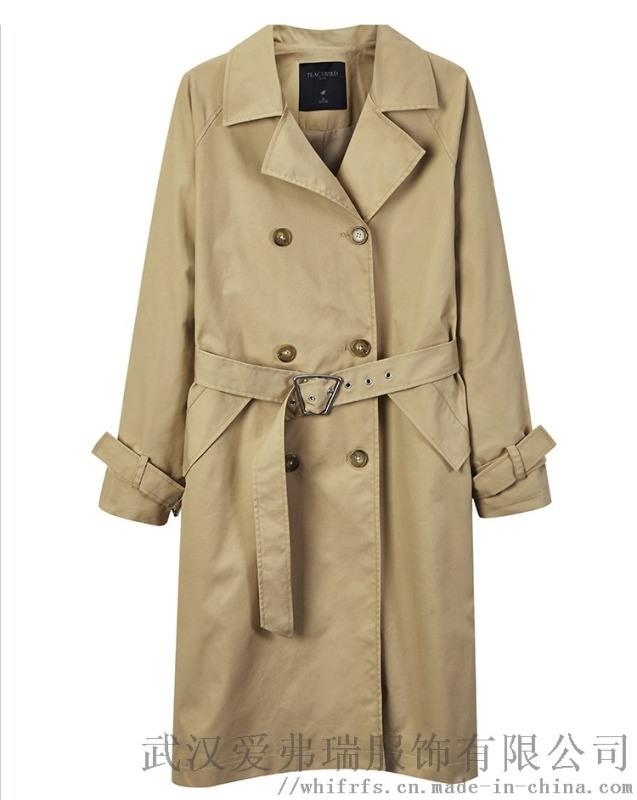 想卖衣服怎么进货凡释20年春装新款女式风衣外套
