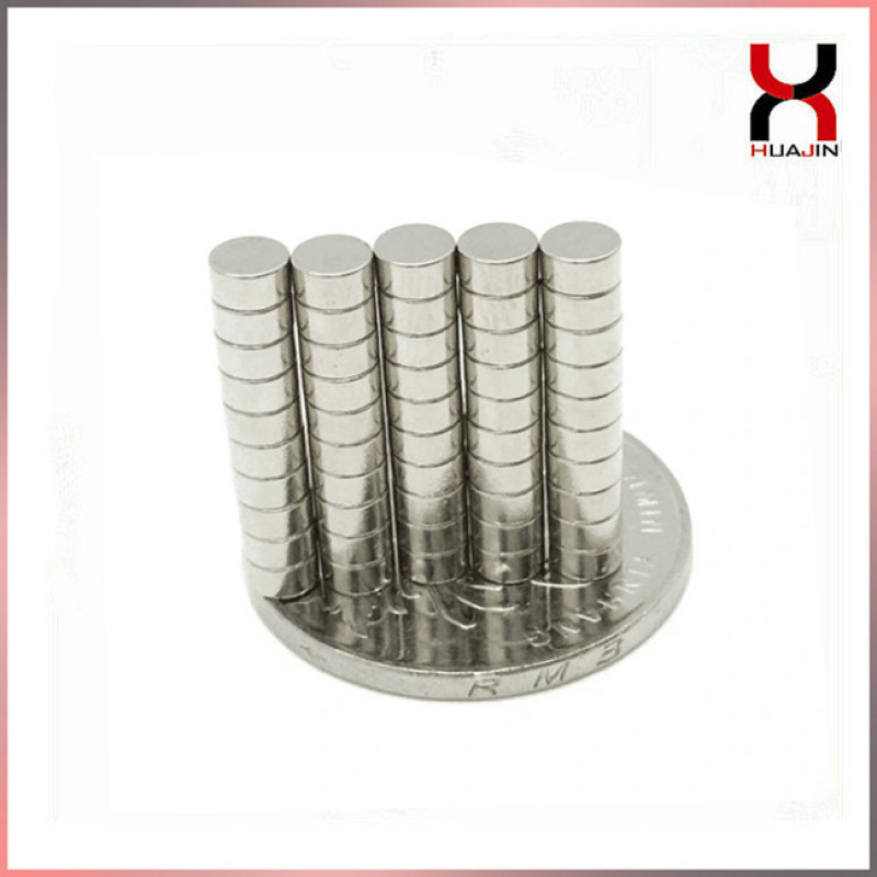 钕铁硼强磁铁 强力圆形磁钢 圆片磁铁