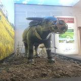 玻璃鋼模擬動物雕塑 農田風光模型展示 水牛雕塑造型